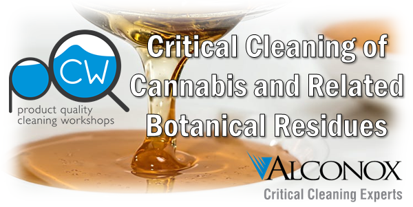 Webinar Banner for Critical Cleaning of Cannabis and Botanical Residues